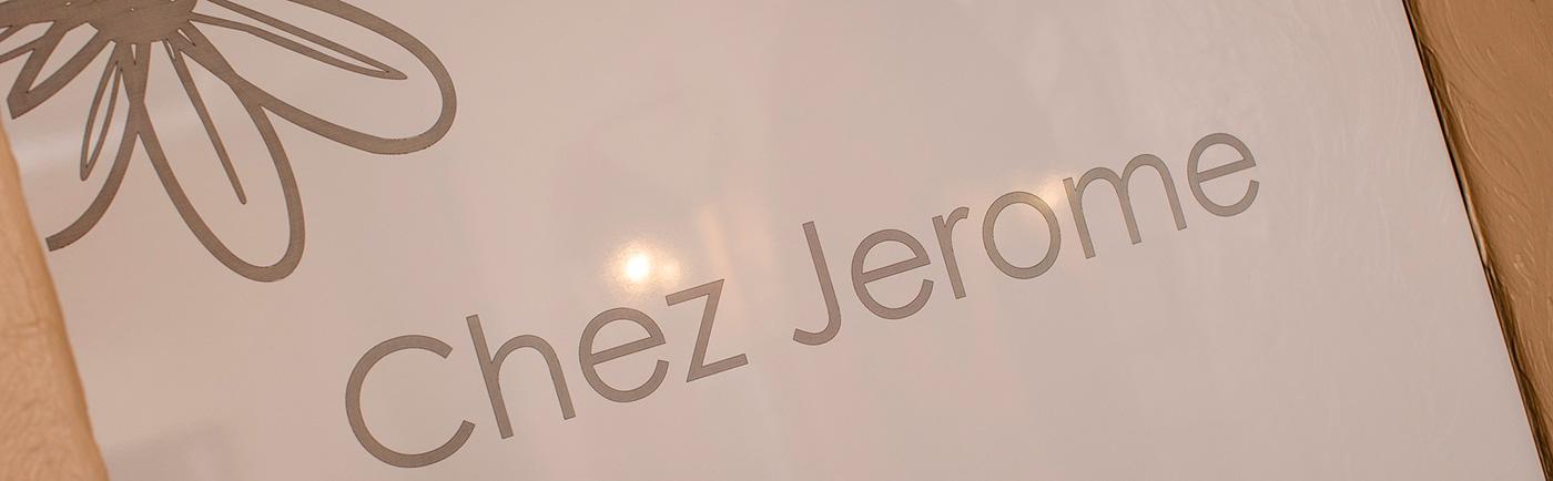 Chez Jerome menu